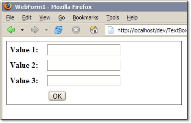 TextBox with Width property set in FireFox
